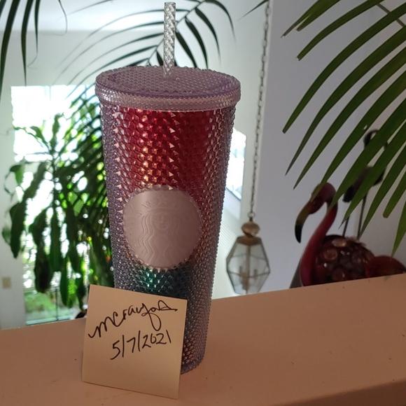 Starbucks US Pride Studded Cup Tumbler New